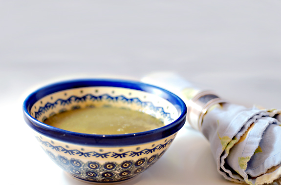 Ginger Soup healthy recipe