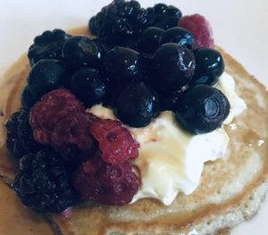 Wheat Free Pancake Breakfast