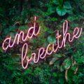 Breathing as medicine