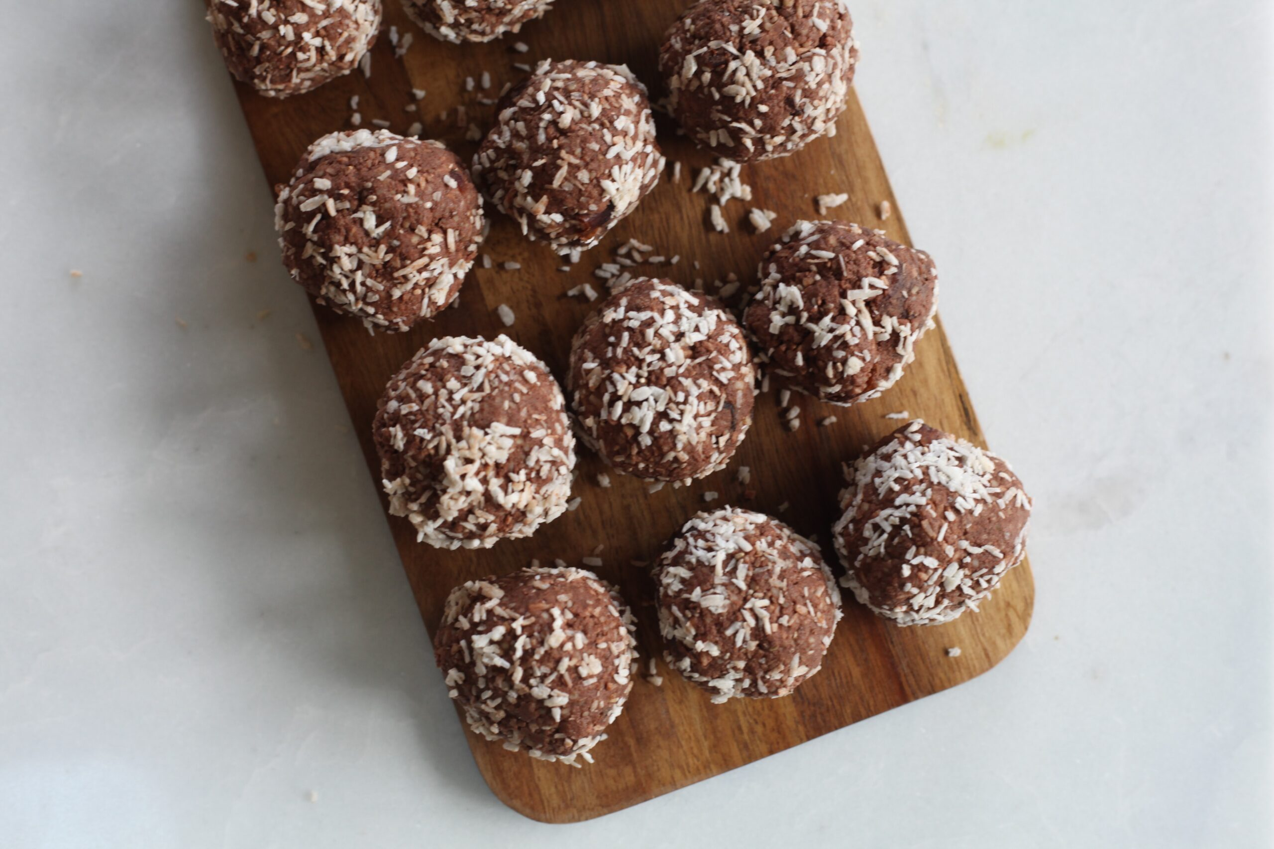 Festive chocolate balls